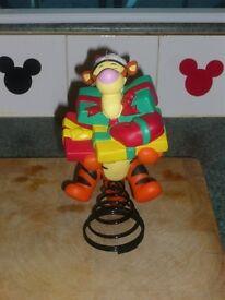 Disney Tigger Christmas Tree Topper