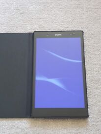 Sony xperia Z3 compact tablet with official case model SPG611
