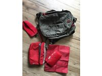 Babymule Baby Changing Bag/Rucksack - Army Green £45 (RPR £89)