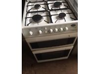 White gas cooker 60cm...Very Cheap free delivery