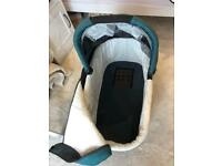 UPPAbaby Vista Travel System - NB Does Not Include Wheel Frame