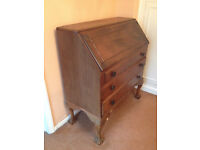 Antique looking writing cabinet/bureau.