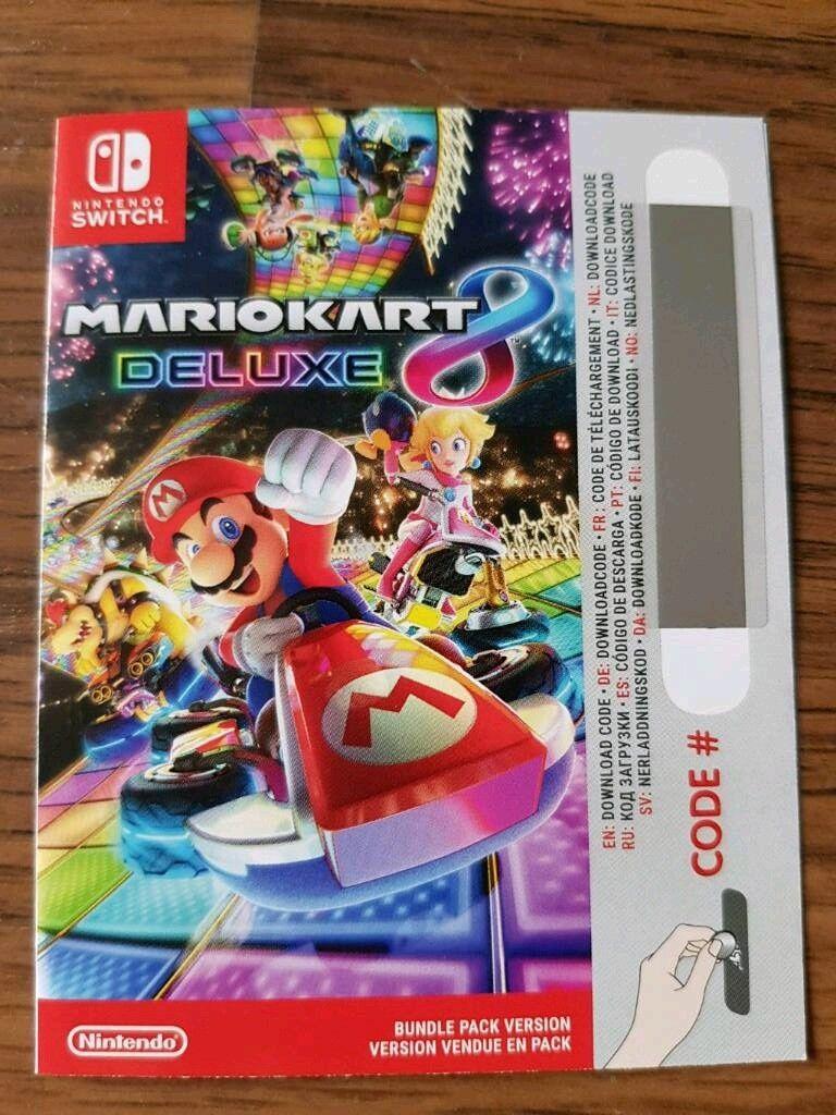 mario kart 8 download code switch