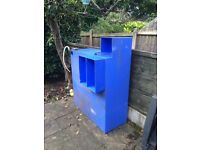 450 litre baffled water tank for window cleaning