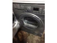 8kg Hotpoint condenser dryer in good working condition with led display