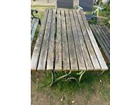 Garden furniture for recycling
