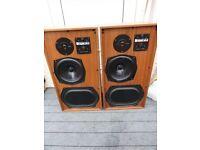 Vintage KEF 104 Reference Speakers for Repair to Spares