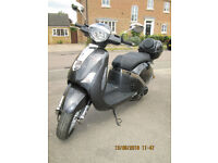 Lambretta Pato (chinese scooter) Brand new condition, only 25 miles genuine