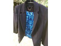Portmans Black label Costume Jacket uk 8