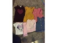 Bundle of baby girl clothes 0-3 & 3-6 months