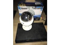 CCTV with indoor, and out door cameras, monitor, and DVR