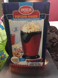 Popcorn maker - never used!
