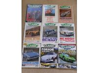 Classic and Sportscar magazine, nine issues