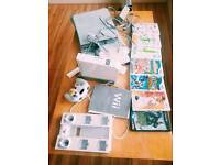 Nintendo Wii console plus y games and Wii fits board
