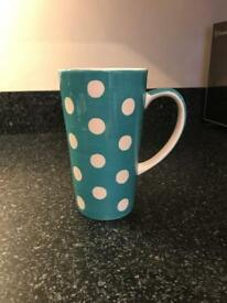 Whittards tall latte mug
