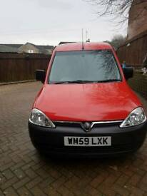 Very low mileage Vauxhall combo 1.3 diesel
