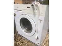 Integrated built in whirlpool washing machine