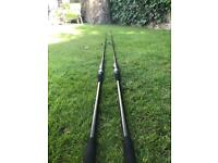 Carp Rods. Leeda Specialist 12ft. 2.75 TC (x2)