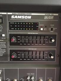 SAMSON 24 DSP 600 W stage amp