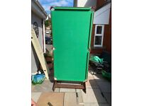 Free to collect - folding pool/snooker table