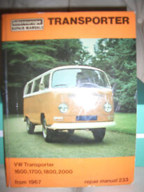 VOLKSWAGON TRANSPORTER REPAIR MANUAL 233 BOOK FOR SALE
