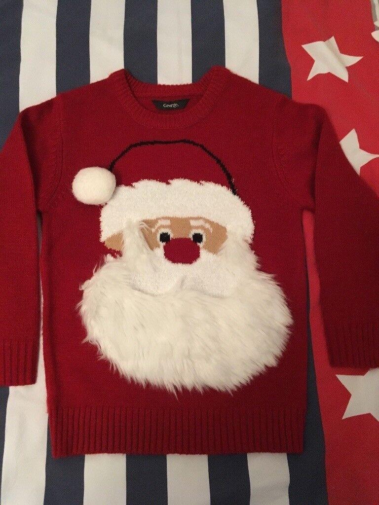 Children's Christmas jumper size 5-6 years