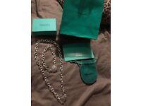 Tiffany n co heart set necklace bracelet