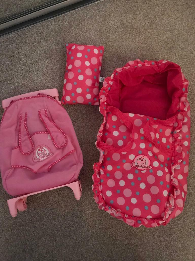 ELC cupcake baby carrier and travel case NEW | in Durham, County Durham |  Gumtree