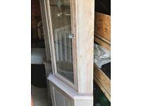 Corner display cabinets(pair)