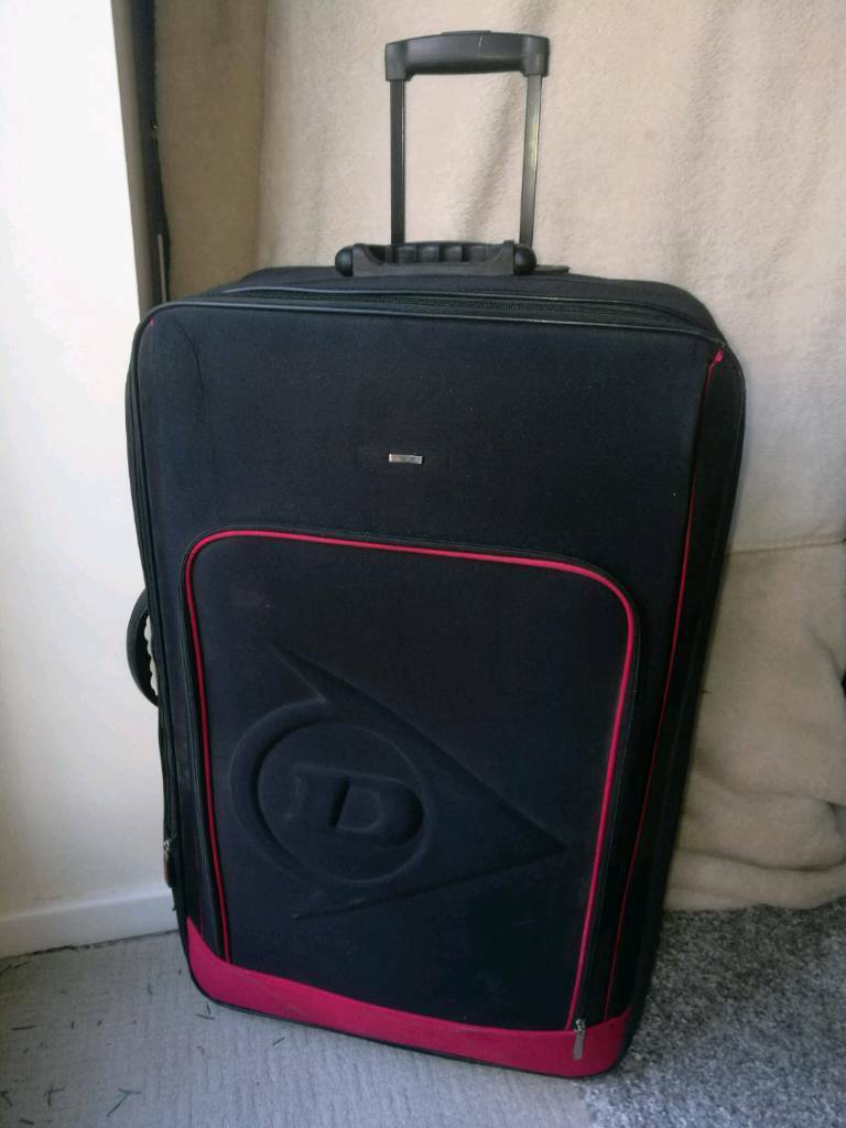 Large Fabric Suitcase