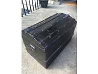 Handsome, antique storage trunk (Reduced Price)