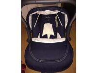 Silver cross car seat in brand new condition