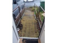 Wheelchair access ramp free to collector. Must be dismissed.