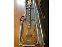 Aria 5 string bass guitar with Armstrong vintage musicman pick up.