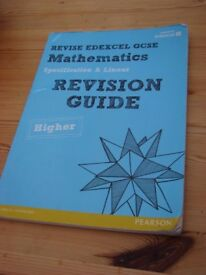 Revision Guide Mathematics. Revise EDEXCEL GCSE. Used but loads of wear left in it, very useful guid