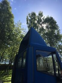Iveco 75e15 lorry wind deflector
