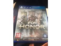 For honor for PS4 swap for sniper 4
