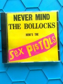 CD Never Mind the Bollocks by Sex Pistols, excellent condition cd in excellent condition