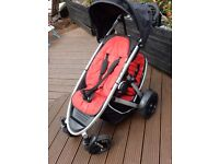Phil and Teds Verve Double Pushchair including many accessories