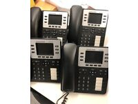 x 4 Grandstream GXP2130 HD IP Phone (handsets only, no cables included).