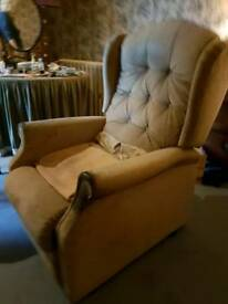 Remote recliner chair