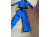 Boys ski jacket with matching trousers