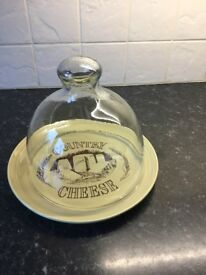 Vintage Country Cooking Original cheese plate