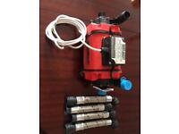 Shower pressure pump