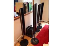 Sony Home Entertainment Surround Sound System with sub and wireless speakers