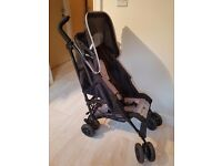 Babies R Us Swift Stroller Buggy Pram Black Grey Includes Raincover