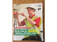 Level 2 Diploma in Electrical Installations 2365
