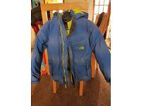 Boys Blue North Face Jacket