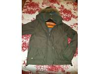 Superdry coat Size medium