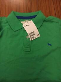 H&M boys polo shirt 4-6y